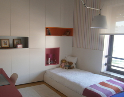 Bedroom for a girl 2012