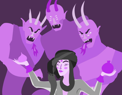 Demons illustration