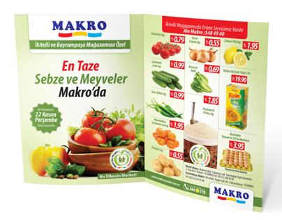 Sebze ve Meyve Broşür_Fruit and Vegetable Brochure