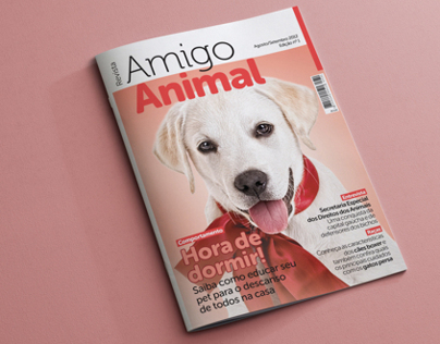 Amigo Animal Magazine | Editorial Design