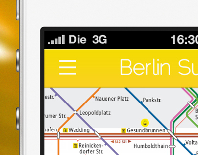 Berlin Subway App Redesign