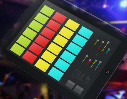 DM-24 Virtual Drum Machine iPad