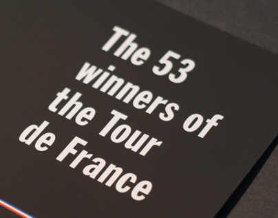 The 53 winners of the Tour de France