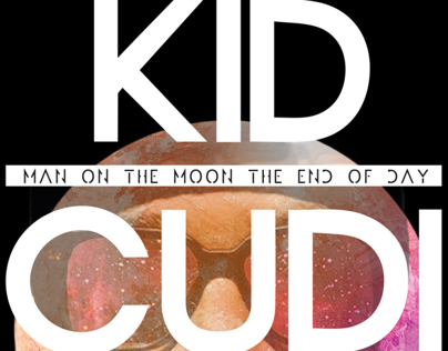 Kid Cudi - Man On The Moon (Alternative Album Covers)