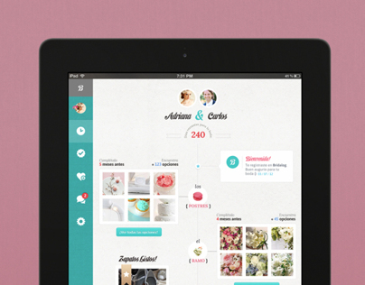 Bridalog — Web-app