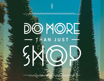 Do More Than Just Shop - Black Friday Campaign