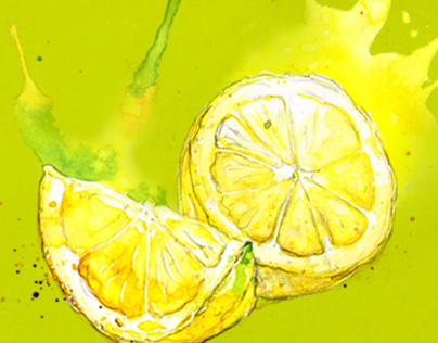 Lemons! :: Green Tea Packaging