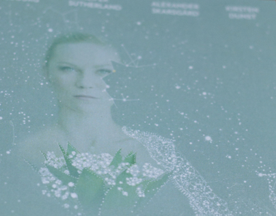 Melancholia DVD cover design