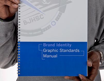 Barbara Jordan HS Logo + Brand Identity