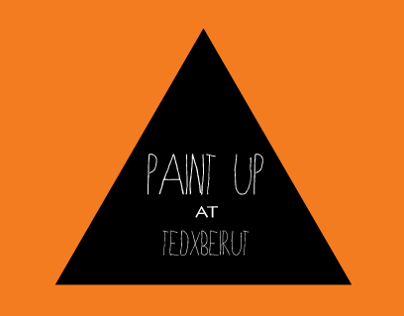 Paint Up Installation at TEDxBEIRUT Event