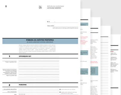 Submission Forms for Constitutional Court