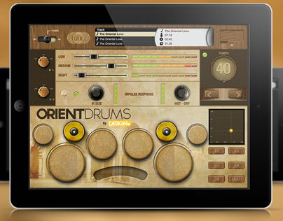 Orient Drums - Mobile Device App