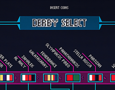 Fiercest local derbies - Fefè #12  Infographic Design