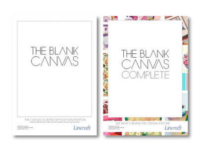 The Blank Canvas: Lincraft Brand Campaign