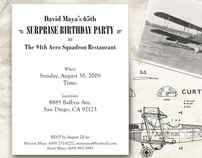 Maya Birthday Invitation