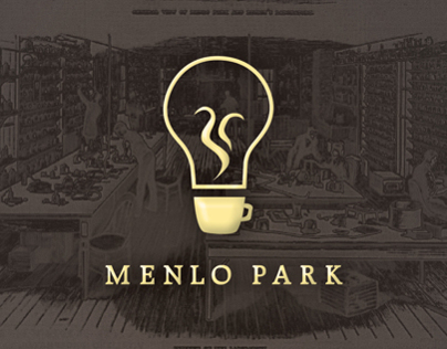 Menlo Park Coffee House - Various Branding Elements