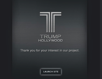 Trump Hollywood - Logo, Brand, Print, Website