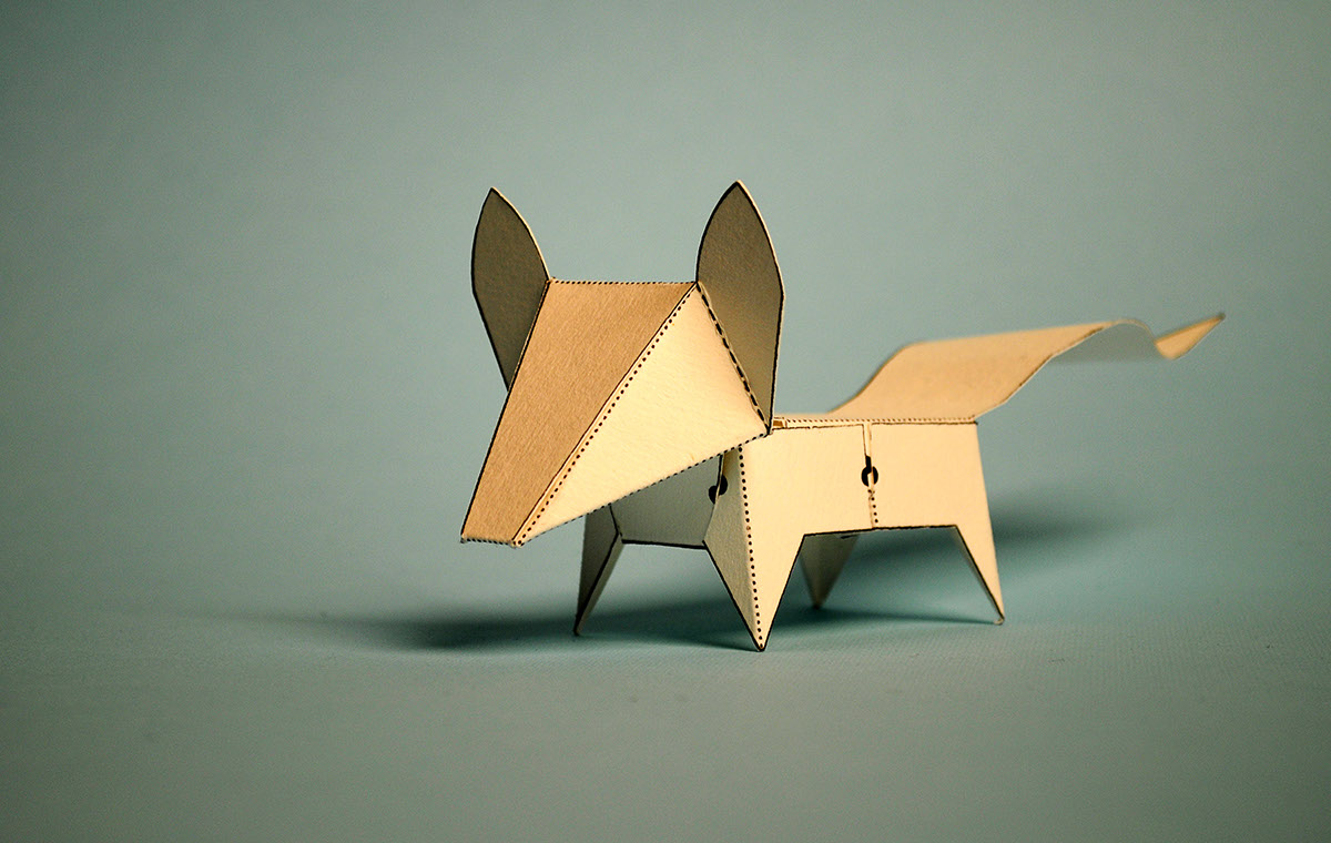 Glueless Paper Animals (JUST FOLD)