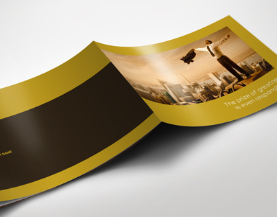 Exclusive Horizontal Brochure