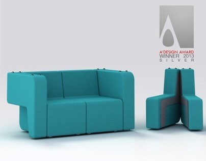Mäss (Transformable sofa)