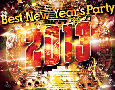 New Year Party Flyer (psd)