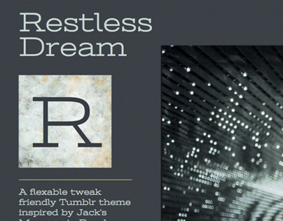 Restless Dream Tumblr Theme