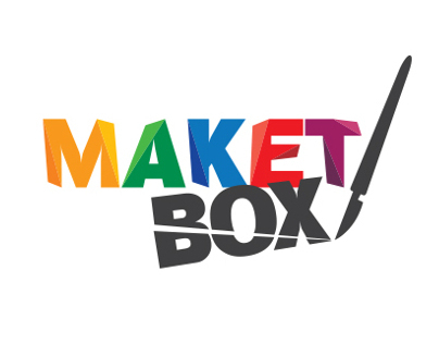 Maket Box logo design