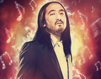 Steve Aoki photomanipulation!