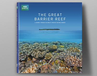 The Great Barrier Reef book design