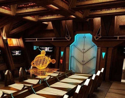 Mustafar meeting room