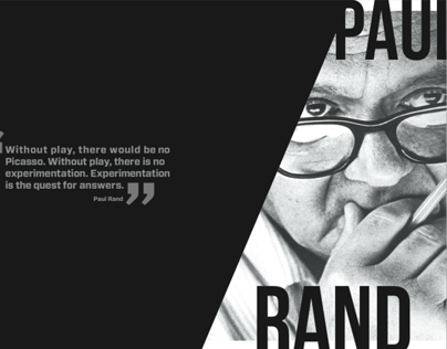 Paul Rand Editorial