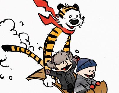 Calvin + Hobbes + Sonny