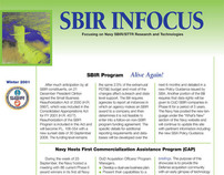 Department of the Navy SBIR INFOCUS