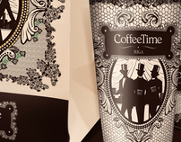 Coffee Time bag and cups