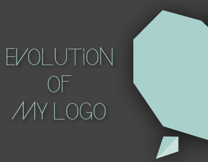 Evolution of my current logo