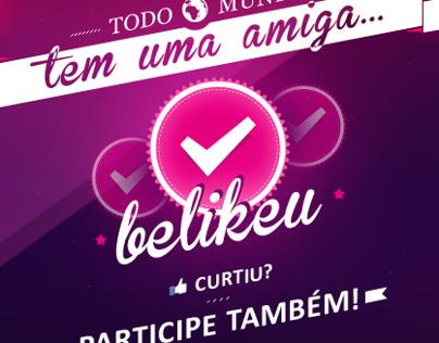 FiveBlu | APP Facebook Amiga Be Like U