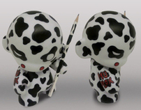 Custom Munny - MuPlox Cow