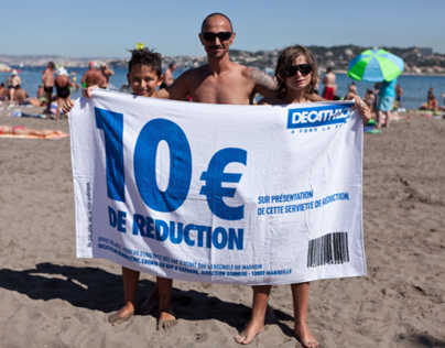 Decathlon - Reduction Beach Towel
