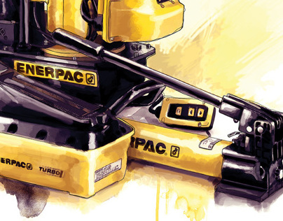 Enerpac Hydraulic Tools Illustration