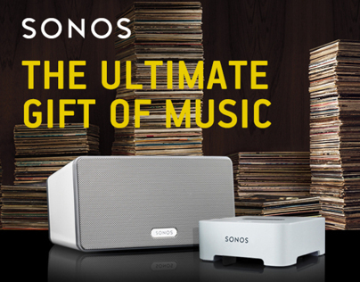 Sonos, the ultimate gift of music