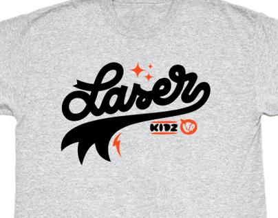 LFR Laser Kidz tee