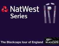 RBS Hospitality for the New Zealand Cricket Series Tour