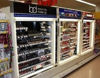 Tesco: Barabara Daly Cosmetic Display