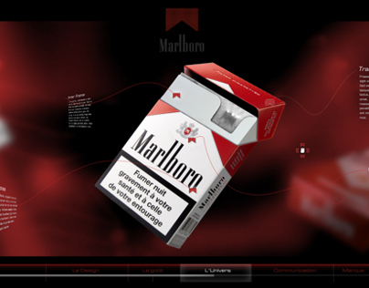 Marlboro RED - Interactive interface