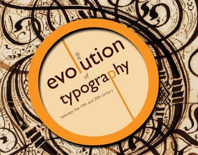Evolution of Typography