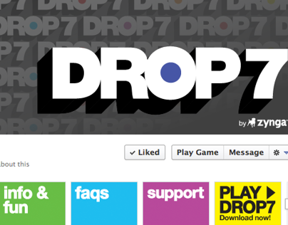 Drop7: Facebook Fan Page
