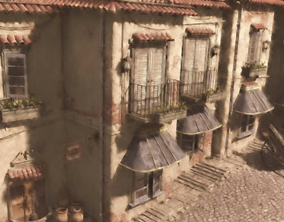 Old World  Concept Architecture