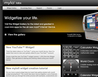 Web design for consumer electronics