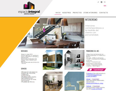 Espacio Integral / Web Design
