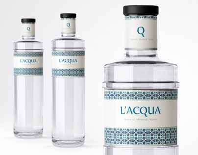 LAcqua - bottle & label design